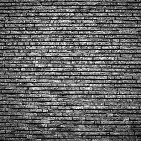 Photo for Old stone wall background. Black-white photo. - Royalty Free Image
