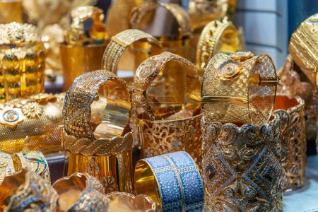 Gold Souk in Dubai, United Arab Emirates.