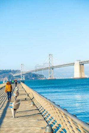 San Francisco Embarcadero and Bay