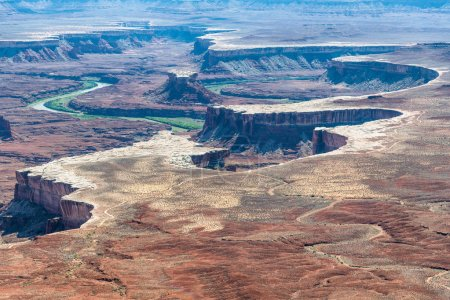 Dead Horse Point State Park aerial view, Utah.