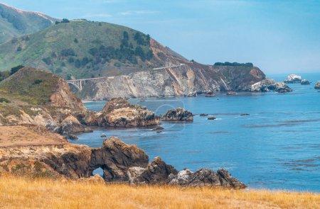 Big Sur amazing coastline, California - USA.