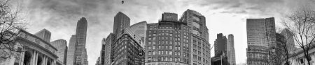 Photo for Midtown Manhattan, panoramic view of city buildings. - Royalty Free Image