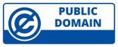 Public Domain License vector illustration