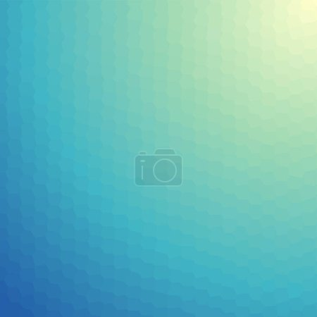 Illustration for Green and blue geometric polygonal textured background - Royalty Free Image
