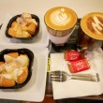SINGAPORE - CIRCA APRIL, 2019: coffee and dessert ...