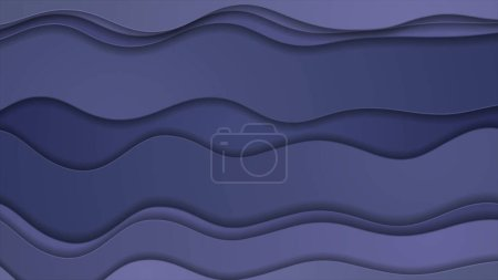 Blue and purple abstract wavy background