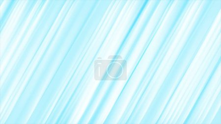 Photo for Light blue bright stripes abstract background design - Royalty Free Image