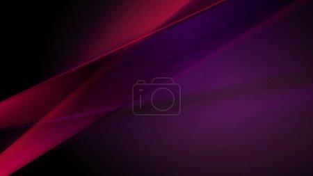 Photo pour Fond sombre abstraction lisse rouge et violet - image libre de droit
