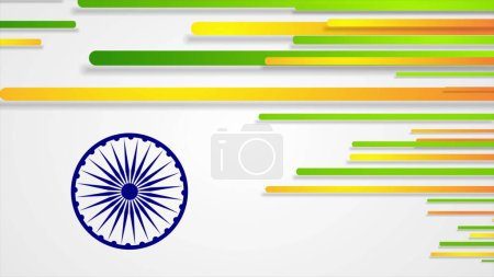 India Republic Day 26 January abstract background