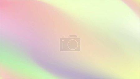Photo pour Abstraits bandes holographiques de gradients douces pastel abstrait - image libre de droit