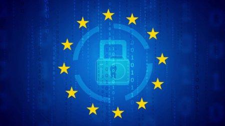 Photo pour Règlement général sur la protection des données - Résumé du RGPD - image libre de droit