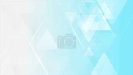 Foto de Azul triángulos grises tecnología fondo abstracto - Imagen libre de derechos