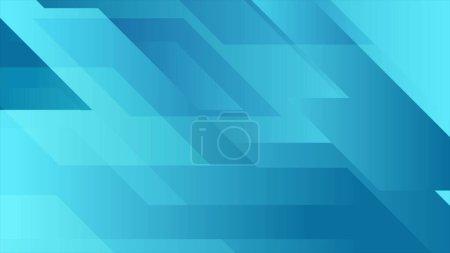 Foto de Fondo geométrico abstracto azul de tecnología mínima - Imagen libre de derechos