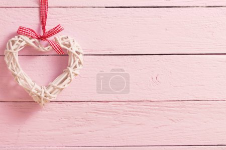 Photo for Valentine's day background with hearts - Royalty Free Image