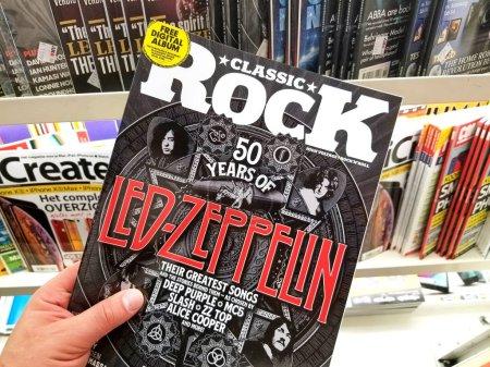 Classic Rock magazine in a