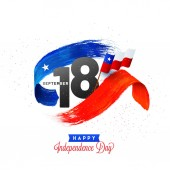Independence Day of Chile Background Design