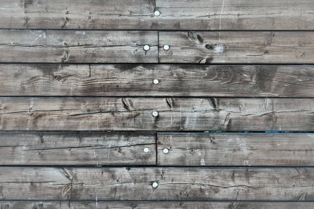 Background of old wooden planks. Wood plank brown texture background.