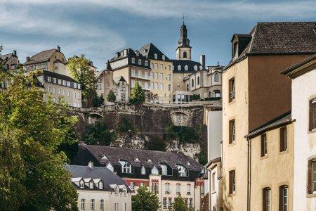 Photo pour Belle vue de Ville Haute de Grund - image libre de droit