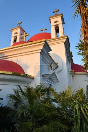 Monastère grec orthodoxe des saints apôtres à Capharnaüm, Isr