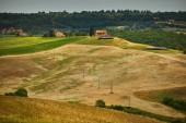 Paysage de nature hills Tuscany