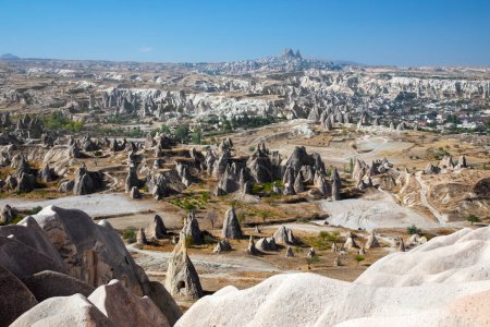 scenic view of Cappadocia Turkey