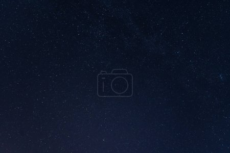 Photo for Stars at night in the blue sky - Royalty Free Image