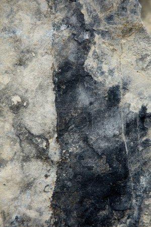 Photo pour Détail des formations rocheuses de granit, gros plan - image libre de droit