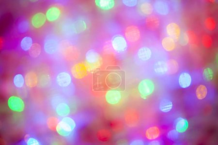 Photo for Bokeh effect blurry lighting abstract background - Royalty Free Image