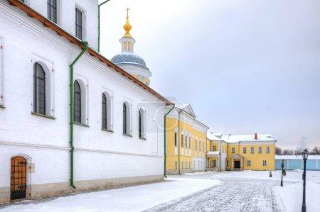 Kolomna City. Monastère orthodoxe Epiphanie Staro-Golutvin