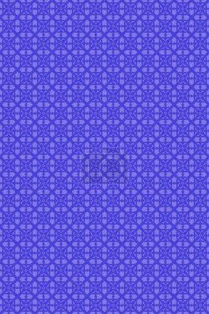 Photo pour Fond de textile sans soudure 3D effet, motif de décoration papier peint. - image libre de droit