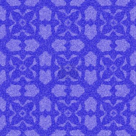 Photo pour Effet 3D fond textile sans couture, motif de décoration de papier peint . - image libre de droit