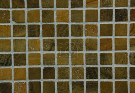 Photo for Texture of fine ceramic tiles for bathroom - Royalty Free Image