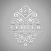 Letter Z Logo - Classic & Luxurious Silver Embossed Style Logo