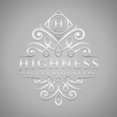 Letter H Logo - Classic & Luxurious Silver Embossed Style Logo