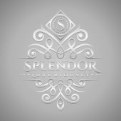 Letter S Logo - Classic & Luxurious Silver Embossed Style Logo