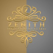 Classic Luxurious Letter Z Logo with Embossed Gold Style Logo