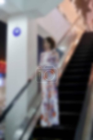 Blurred background abstract, office, shopping mall and store