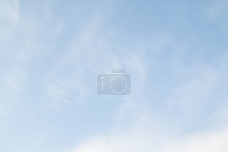 Photo for Blue sky with clouds background - Royalty Free Image