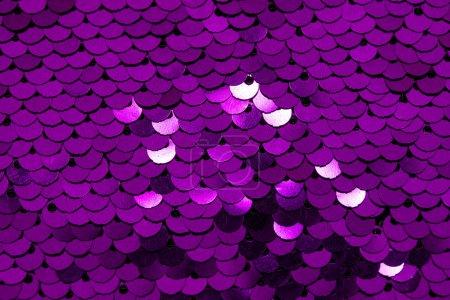 Fischschuppen Stoff lila rosa Hintergrund