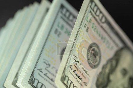money 100 dollar bills as