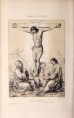 """Постер, картина, фотообои """"Христианская иллюстрация. Старое изображение"""""""