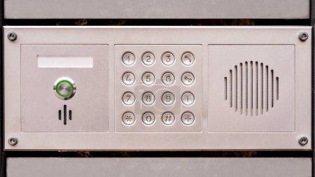 Türzugang Panel mit Tastatur und Lautsprecher