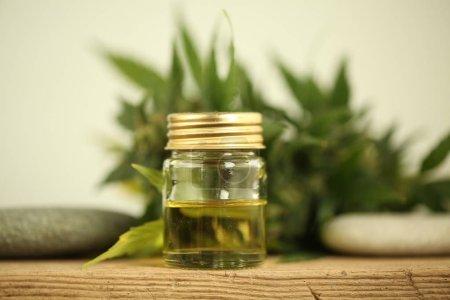 Photo for Marijuana medical cannabis oil cbd - Royalty Free Image