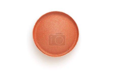 Photo pour Ombres à paupières couleur cercle sur fond blanc. - image libre de droit