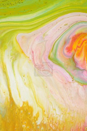 Photo for Colorful blots. Abstract background. Marble texture. Acrylic colors. - Royalty Free Image