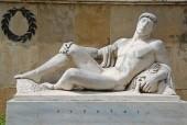 Statue of Leonidas in Thermopyles, Greece