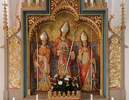 Saint Martin Nicholas and Sylvester