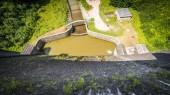 Water dam in Zagorze Slaskie