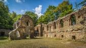 Ruins of old Ksiaz castle