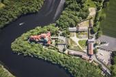 Czocha castle in summer